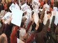 News video: Over Yells, Michigan Legislature Limits Unions